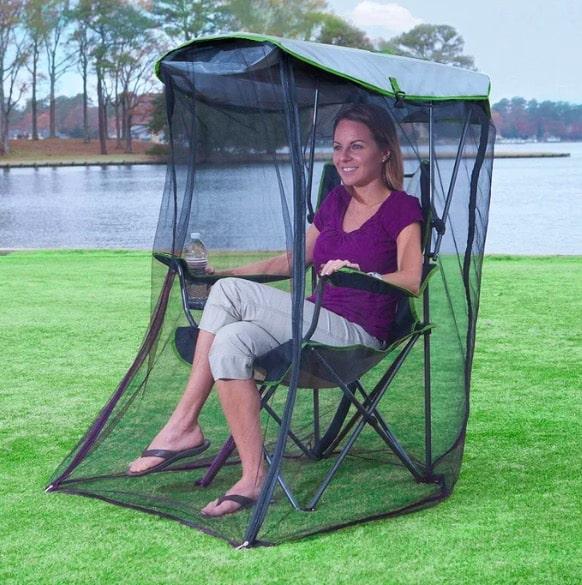 chaise moustiques
