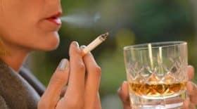 cigarette alcool