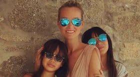 Jade Hallyday profite de ses vacances d'été