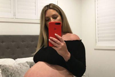 Elle dévoile son baby bump et se fait lyncher