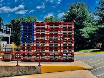 palettes drapeau US 20