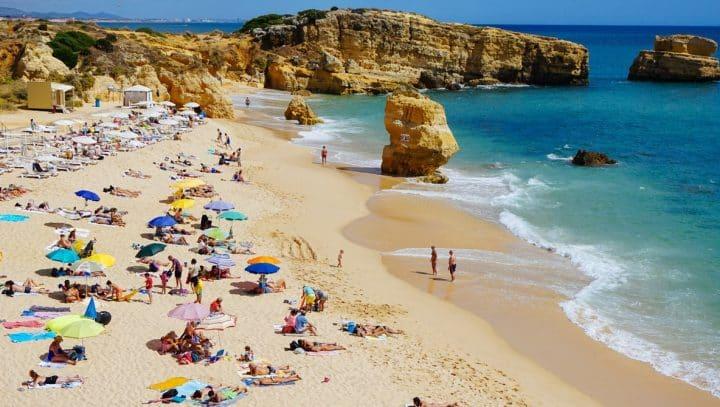 plage été