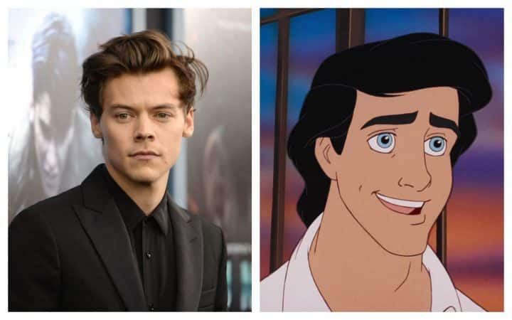 Harry Styles Prince Eric