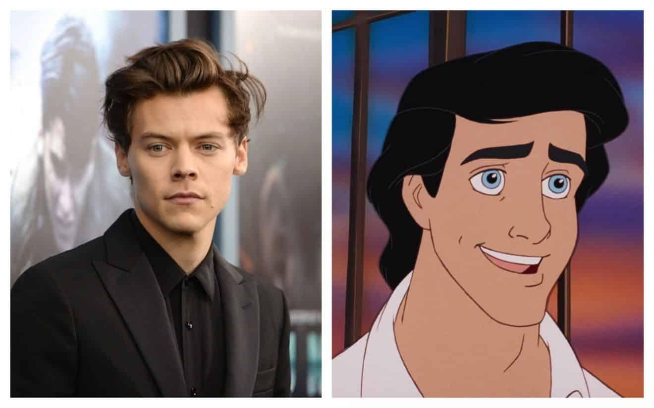 Harry Styles refuse de jouer le Prince Eric dans le Live-Action «La Petite Sirène» de Disney
