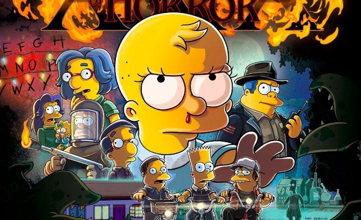 Les Simpson : Pour L'épisode 666, Les Personnages Entrent Dans L'Upside Down De Stranger Things