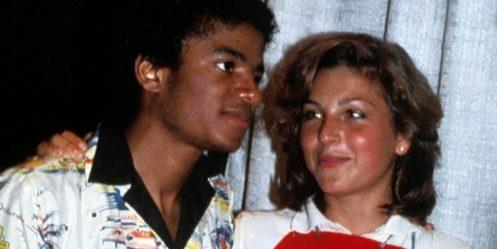 Tatum O'Neal et Michael Jackson