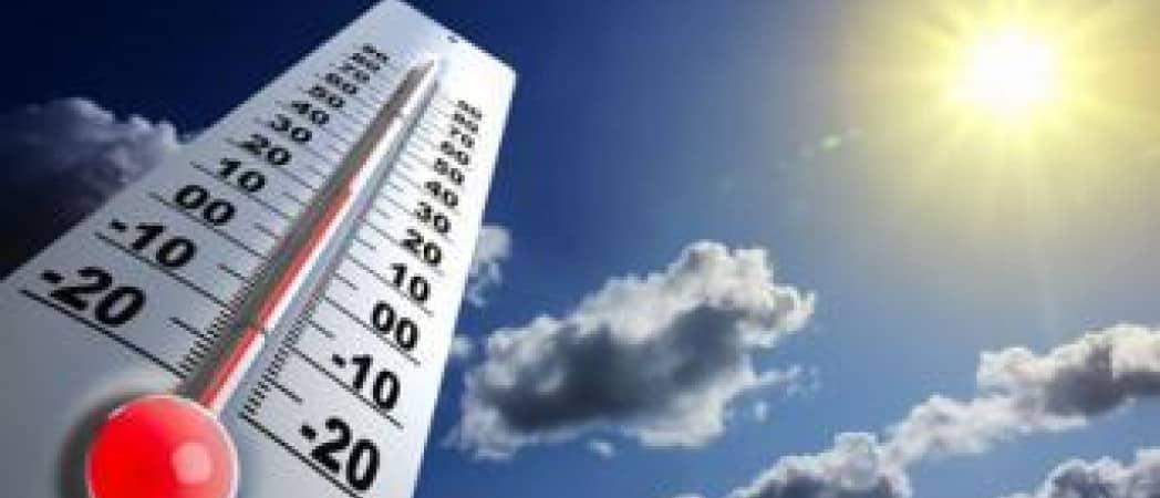 Alerte climat : En 2050 les Parisiens auront l'impression de vivre à Canberra !