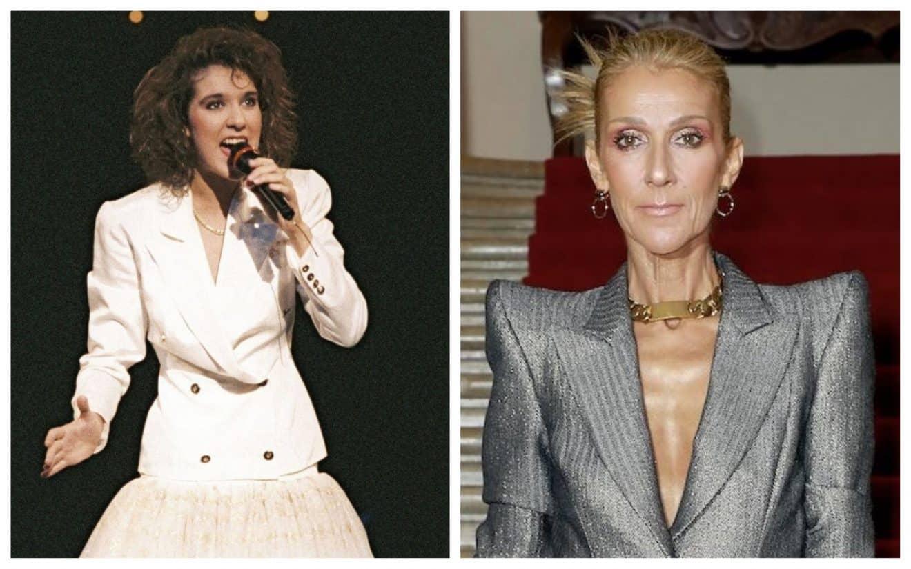 Après 40 ans de carrière, découvrez l'incroyable évolution de Céline Dion
