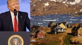 Donald Trump Groenland