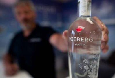 water icebergs