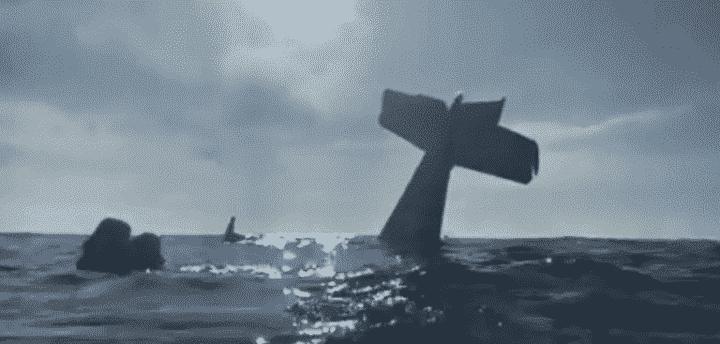 Son avion se crashe : il filme tout en pleine mer !