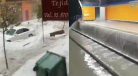 inondations madrid