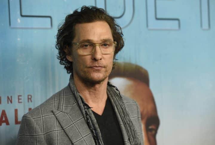 L'acteur se reconvertit et donne des cours à l'Université — Professeur Matthew McConaughey