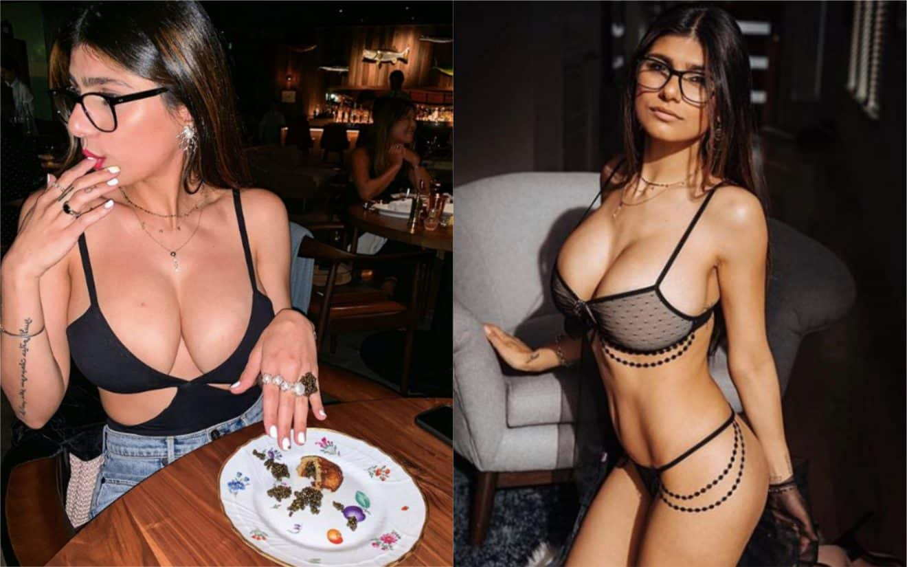La célèbre actrice X Mia Khalifa donne le montant de ses revenus dans le porno, Twitter s'enflamme !
