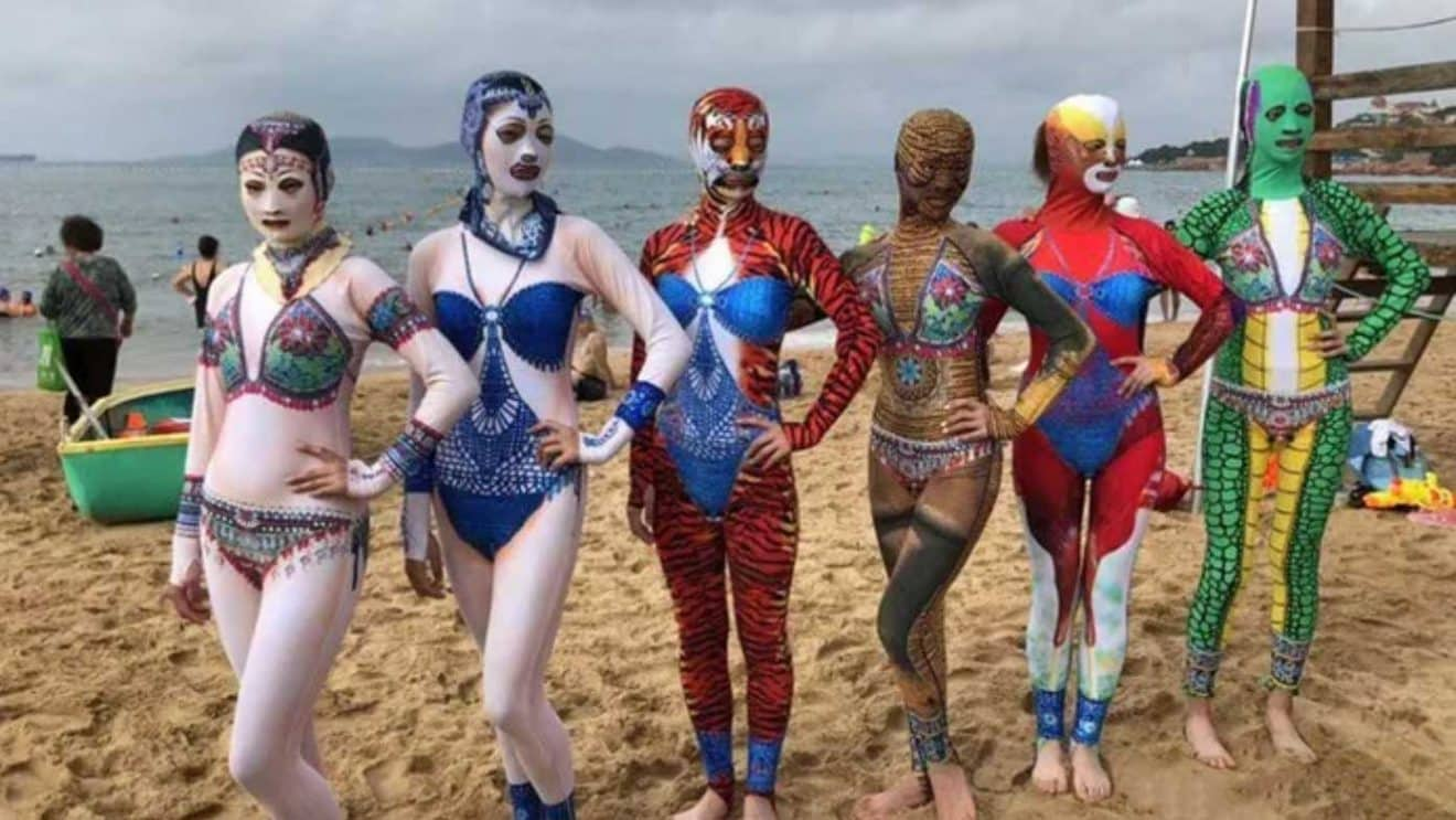 6 nouveaux modèles de facekinis pour aller à la plage cet été