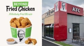 Poulet vegan KFC