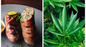 saucisses cannabis