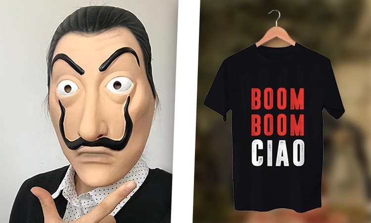 La Casa De Papel : 16 accessoires cool et stylés pour les fans des braqueurs au masque de Dali