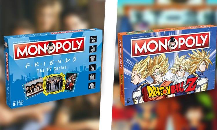 Monopoly : 16 versions du jeu beaucoup plus fun pour ne plus s'ennuyer en soirée ou aux repas de famille