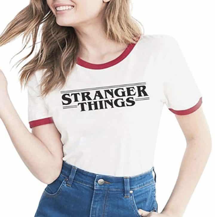 tshirt vintage stranger things