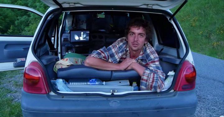camping car Twingo
