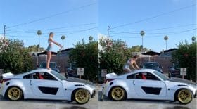 backflip voiture