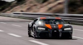 Bugatti record vitesse