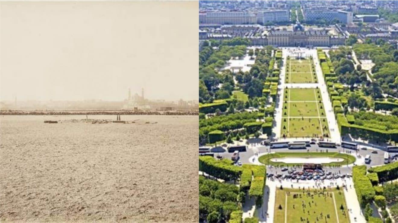 Paris avant et Paris aujourd'hui : voici des photos impressionnantes de l'évolution de la capitale