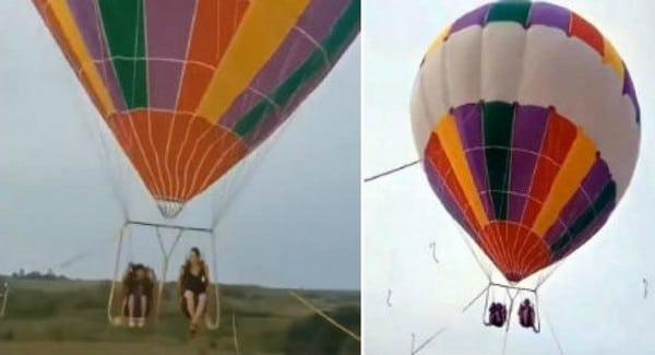 Une mère et son enfant meurent dans un accident de montgolfière en Chine