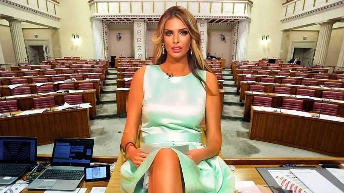Un mannequin Playboy star de téléréalité se présente à la présidentielle en Croatie