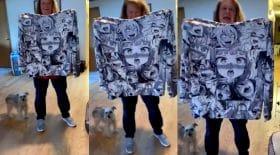 Cette femme offre un pull avec des dessins obscènes à sa fille