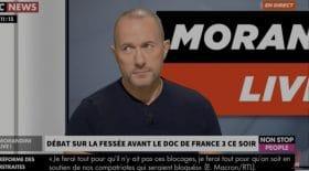 Pascal Soetens sur le plateau de Morandini pour la loi anti-fessée