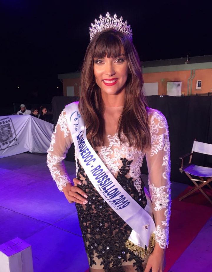 Lucie Caussanel - Miss Languedoc-Roussillon