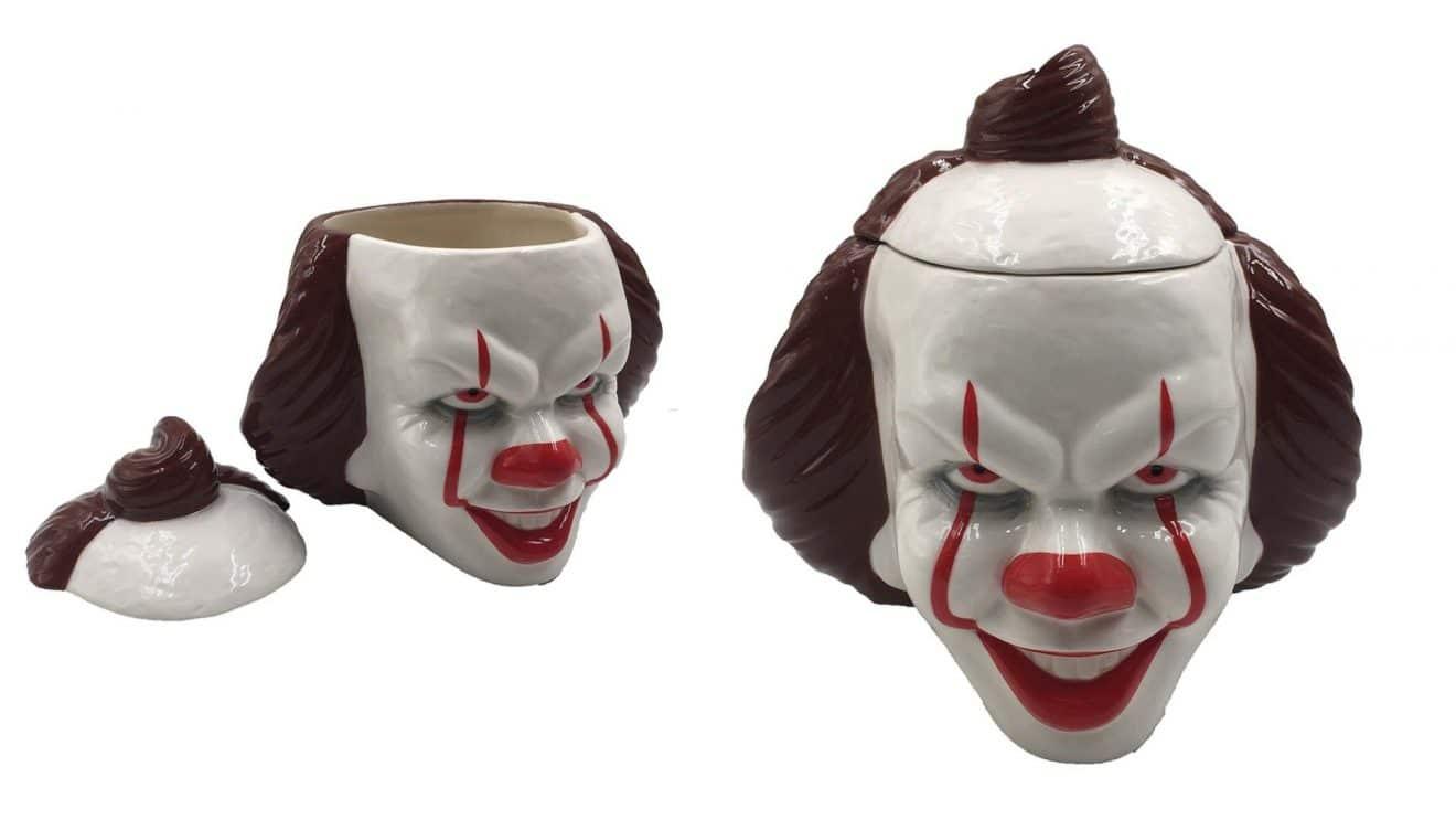 Le mug le plus flippant débarque chez vous et le clown Ça par la même occasion !