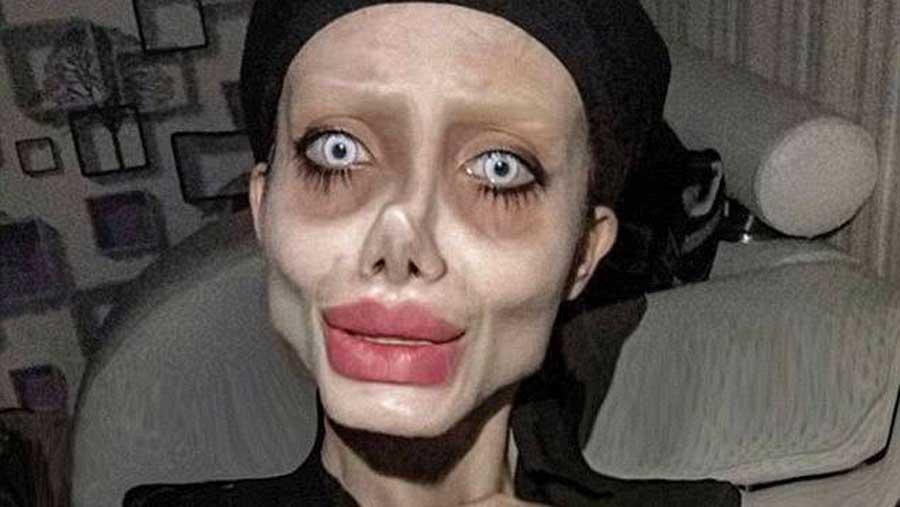 La célèbre «Angelina Jolie zombie» iranienne a été arrêtée pour «outrage culturel»