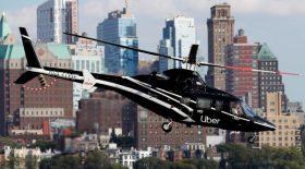 taxi hélicoptère uber