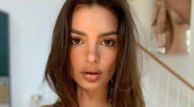 Emily Ratajkowski sexy en femme d'affaire