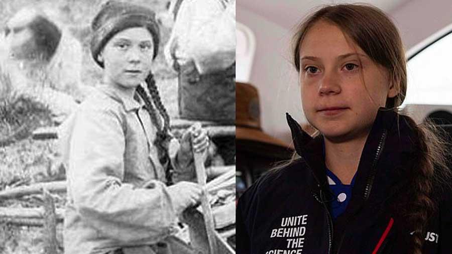 Greta Thunberg photographiée au Canada, il y a 121 ans? Est-elle une voyageuse temporelle?