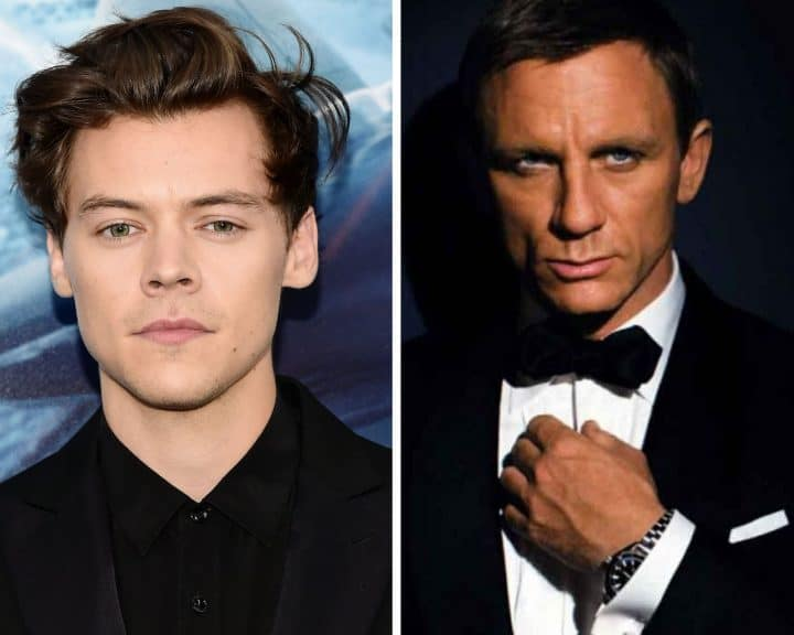 Qui sera le prochain James Bond ? Harry Styles se porte volontaire !