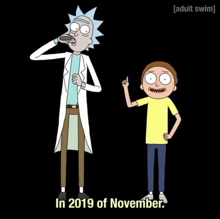 AdultSwim annonce la sortie de la saison 4 de Rick et Morty