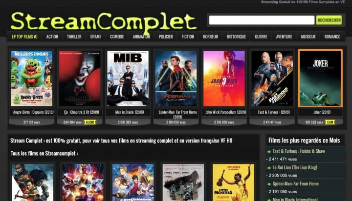 Film Streaming Complet