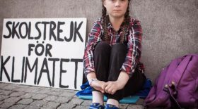 un documentaire sur Greta Thunberg