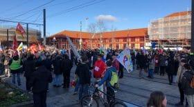 Les électriciens de Lyon font un geste fort durant la grève