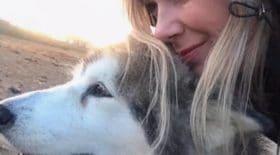 jeune femme dernier souhait chienne euthanasie