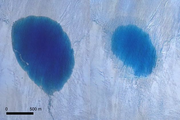 Ce lac du Groenland se vide en quelques heures, sous les yeux médusés des scientifiques