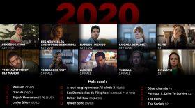 Netflix dévoile son programme 2020
