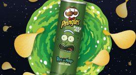 Rick et Morty Pringles