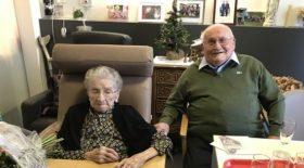 Âgés de 100 et 101 ans, ils forment un couple magnifique qui s'aiment comme au premier jour