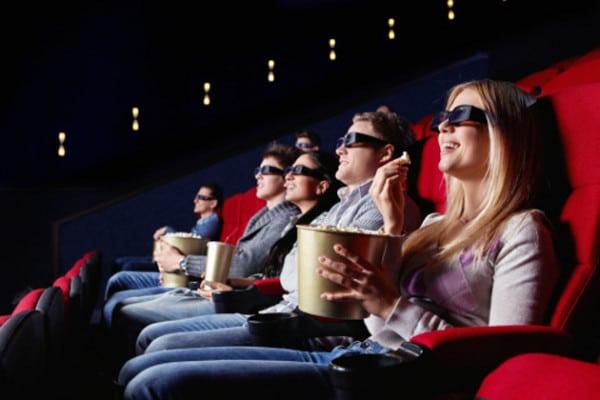 Aller au cinéma est bénéfique pour la santé !