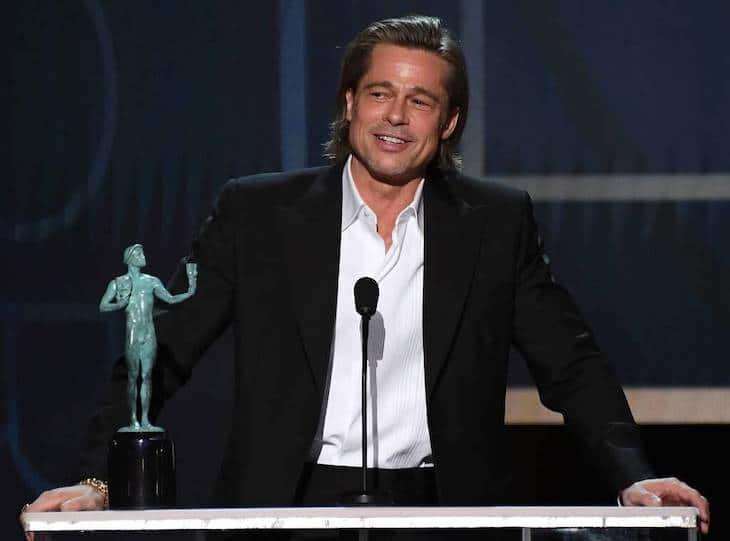 Brad Pitt, aux Screen Actors Guild Awards, a fait rire toute la salle